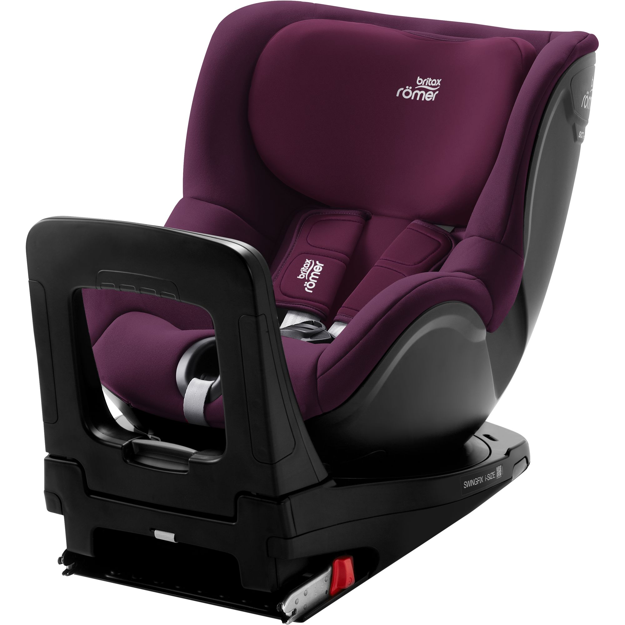 Britax-Romer-Swingfix-i-Size-Burgundy-Red