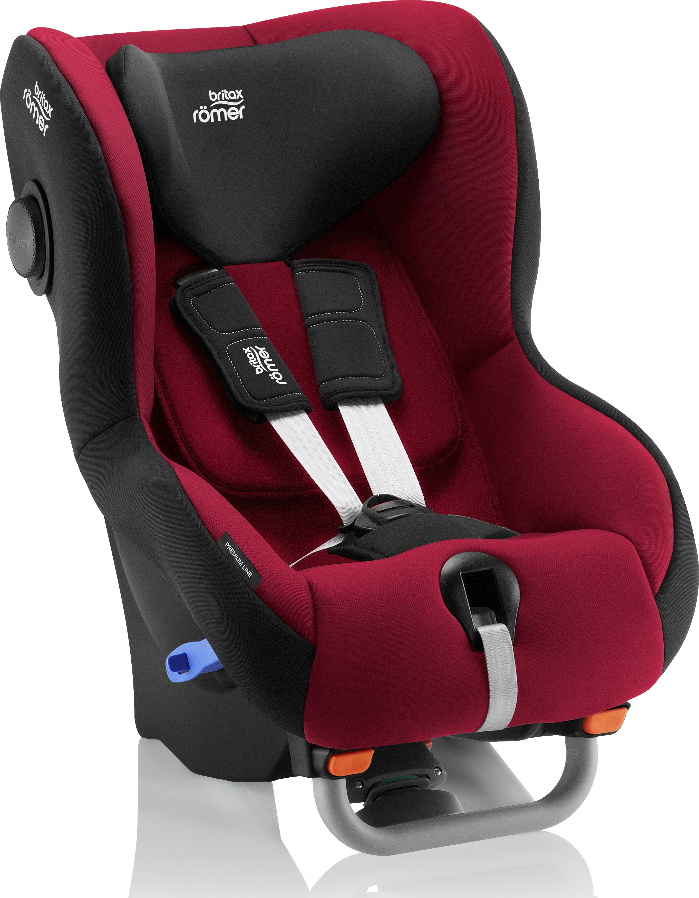 britax romer max-way plus flame red