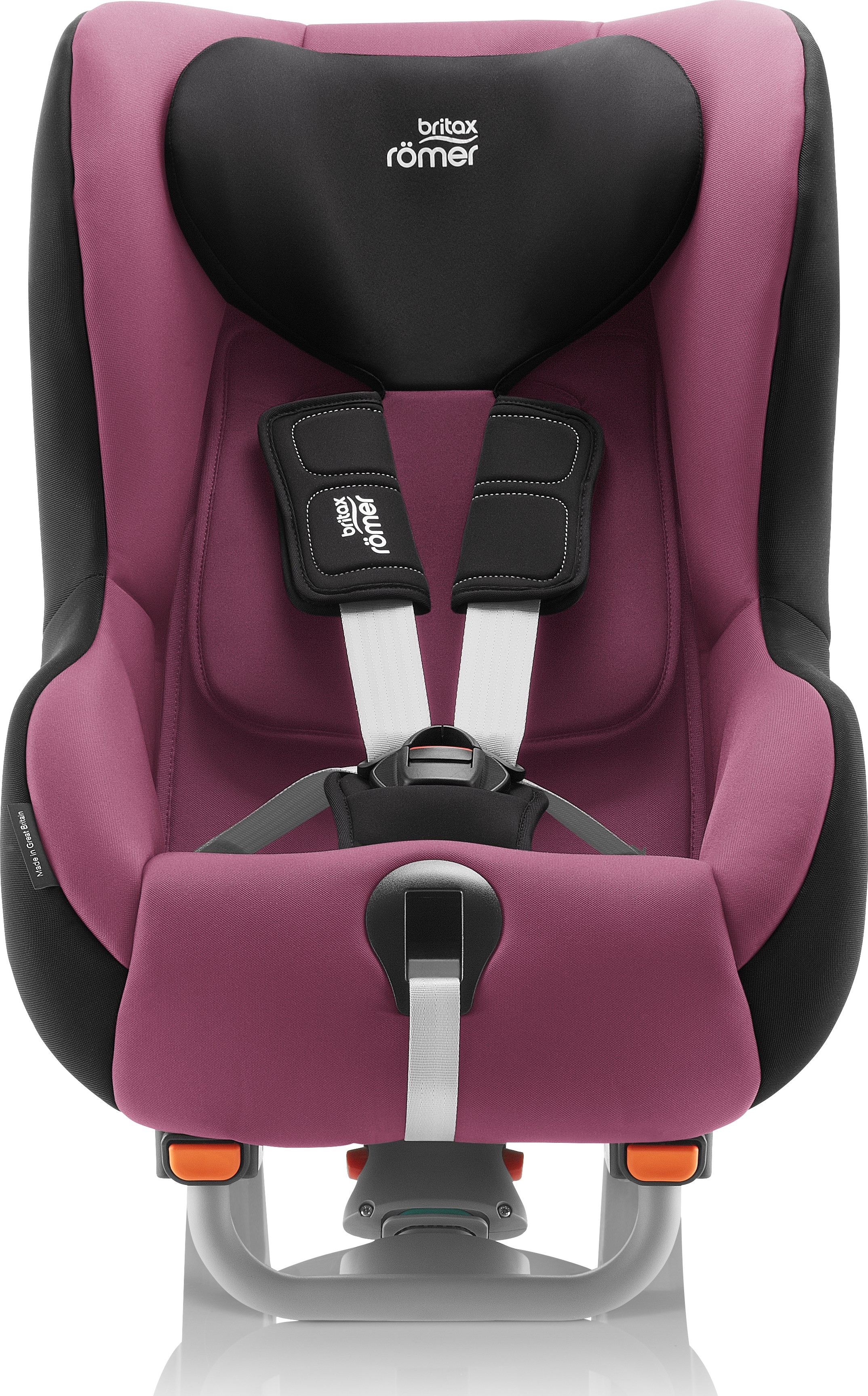 britax romer max-way plus wine rose