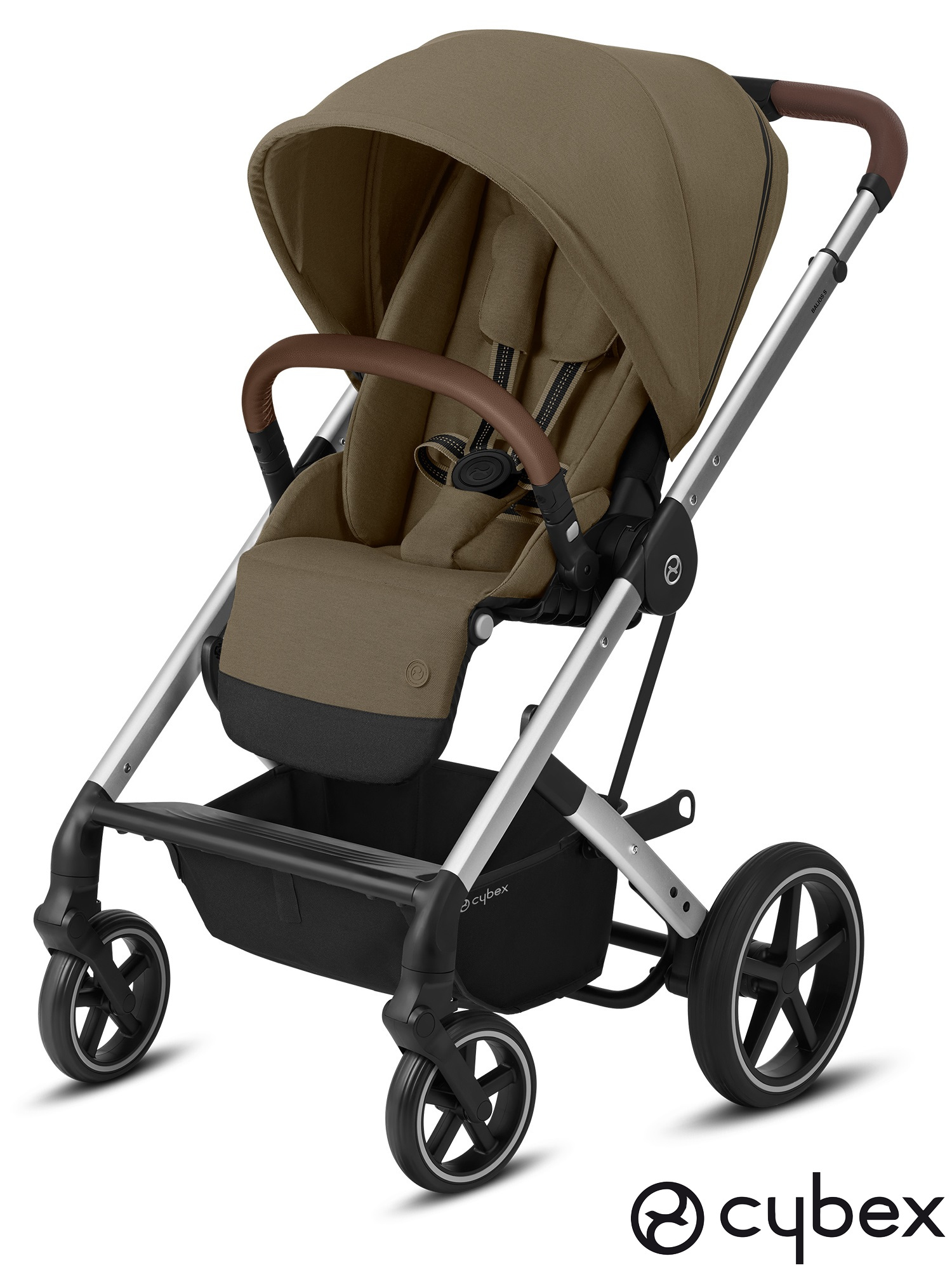 Cybex-Balios-S-LUX-Silver-Classic-Beige-Spacerowka