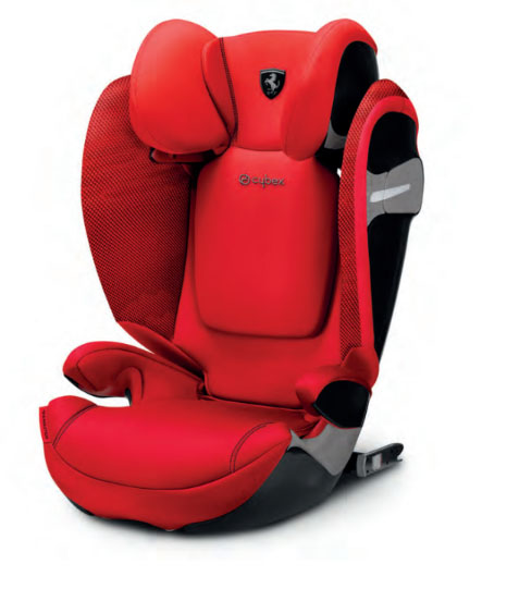 Cybex Solution s-fix 15-36 kg ferrari racing red