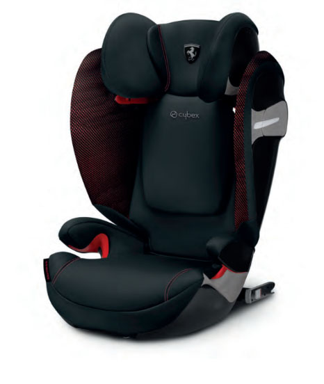 Cybex Solution s-fix 15-36 kg ferrari victory black