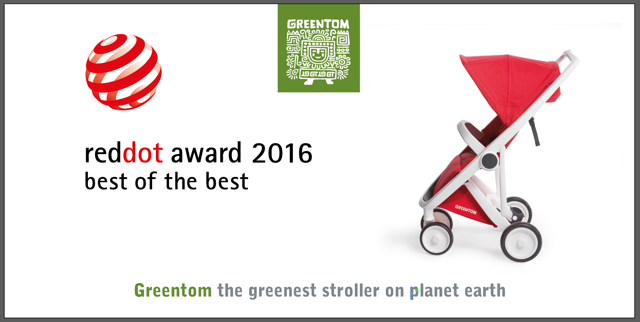 "Greentom ""Red Dot Award"" 2016 Best of the Best"