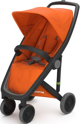 Greentom Upp Classic rama Black materia Orange