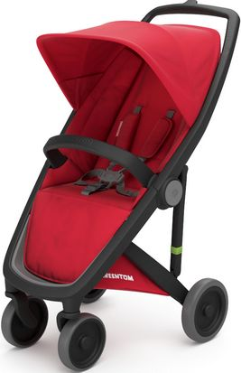 Greentom Upp Classic rama Black materia Red
