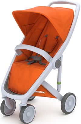 Greentom Upp Classic rama Grey materia Orange