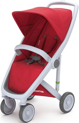 Greentom Upp Classic rama Grey materia Red