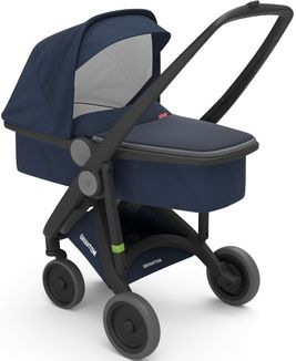 Greentom Upp Carrycot rama Black materia Blue