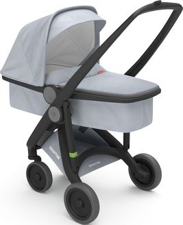 Greentom Upp Carrycot rama Black materia Grey