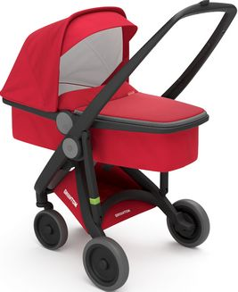 Greentom Upp Carrycot rama Black materia Red