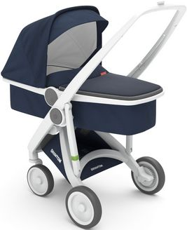 Greentom Upp Carrycot rama White materia Blue