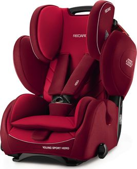 RECARO Young Sport Hero Indy Red 2016