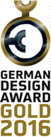 German Design Award Gold 2016