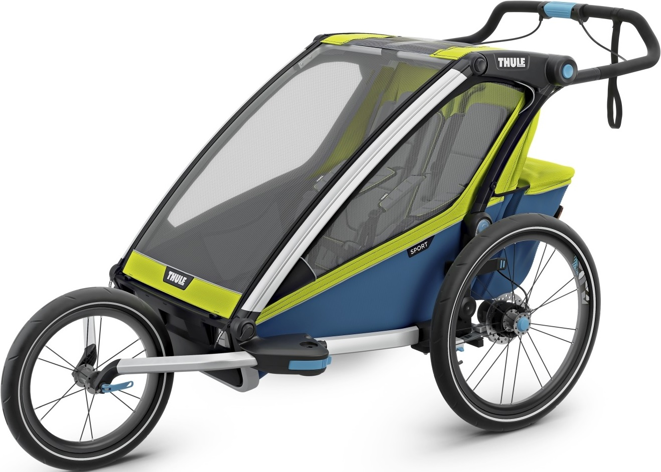 Thule Chariot 2 Chartreuse Mykon