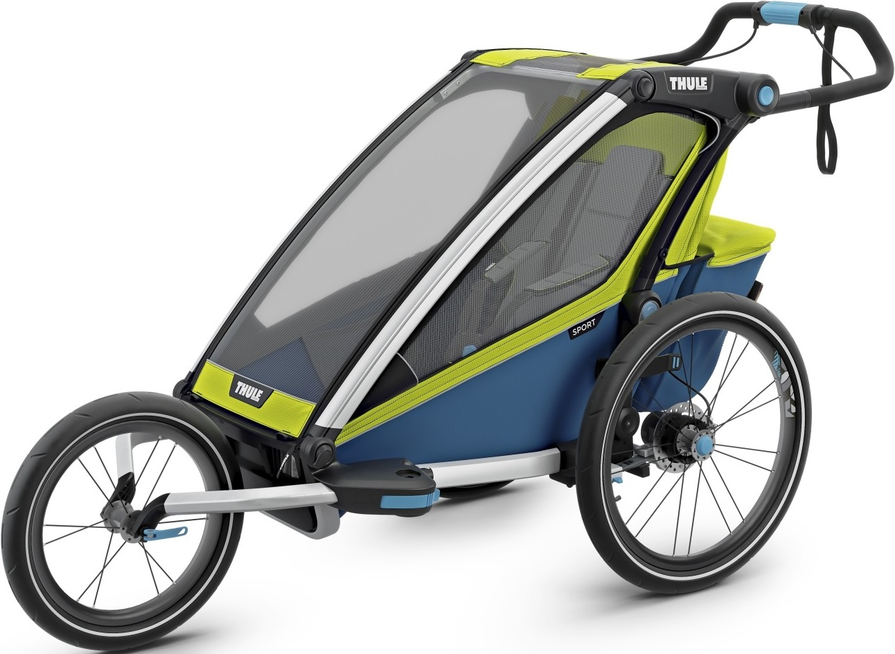 Thule Chariot 1 Chartreuse Mykon