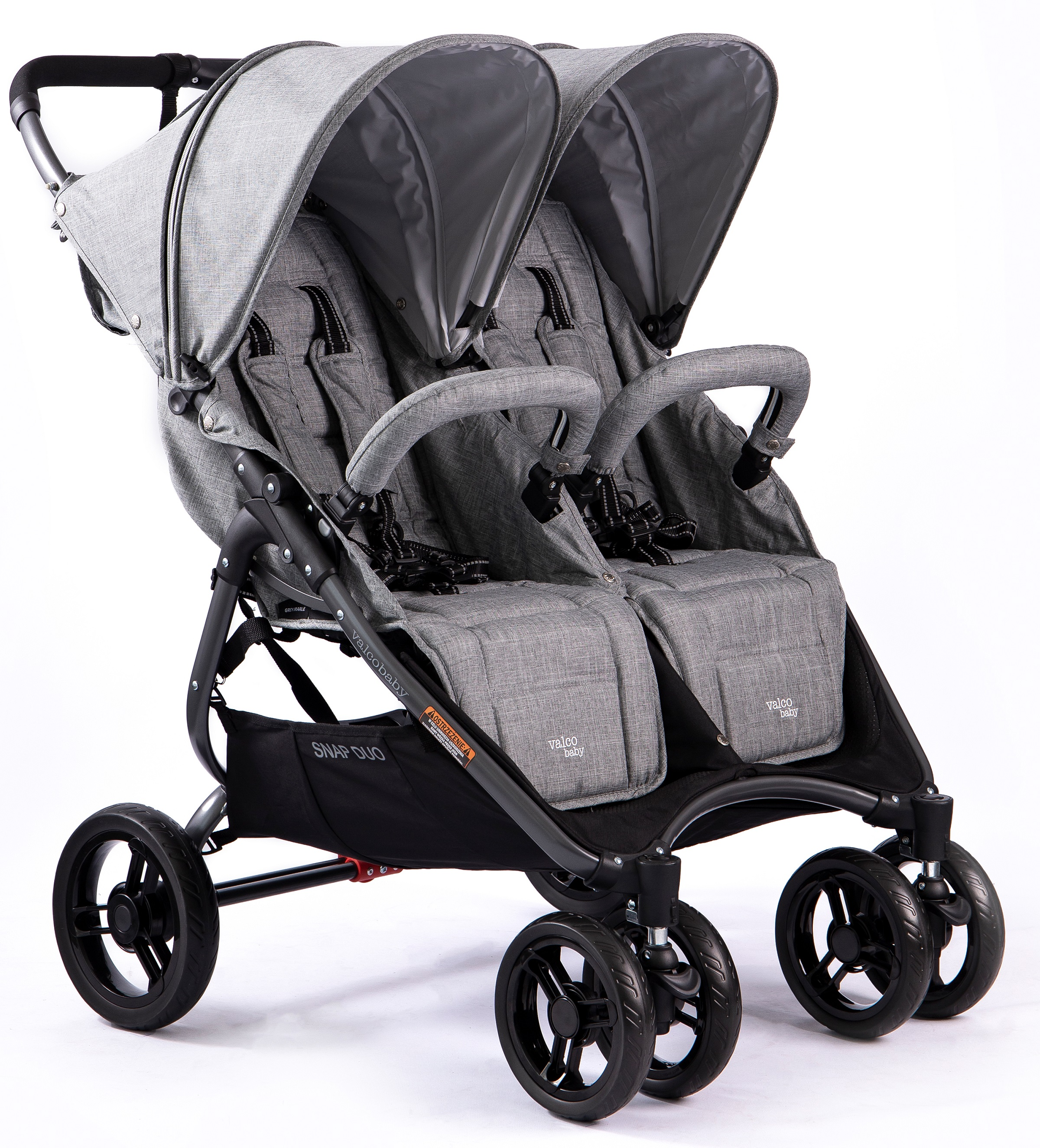 Valco-Baby-Snap-Duo-Tailor-Grey-Marle